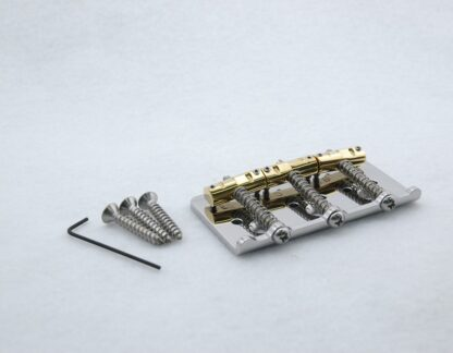 Callaham Vintage Hardtail Bridge with Enhanced Brass Saddles Specialized for Bigsby Flat Mount styled Vibratos