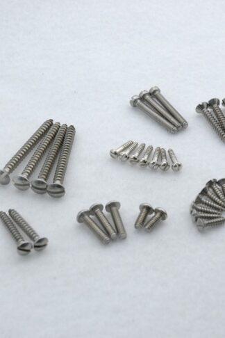 Callaham Slotted Head Stainless Steel Screw Kit