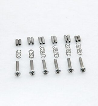Callaham Strat Stainless Steel Saddle Screw Kit